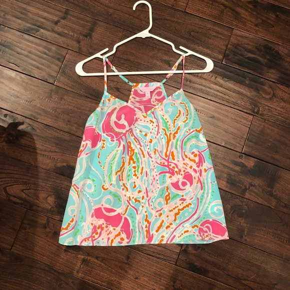 Lilly Pulitzer Tops - Lilly Pulitzer tank XS